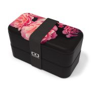 Ланч-бокс  Monbento MB Original Flower mood black