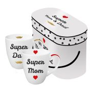 Набор кружек Paperproducts Design Super Mom & Dad